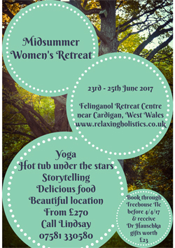 midsummer womens retreat wales